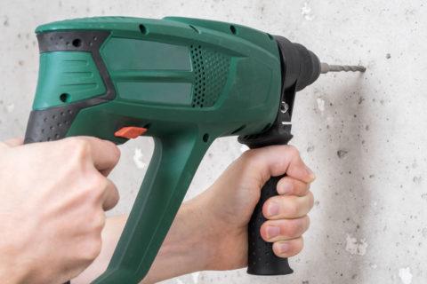 Richtig bohren in Beton und Stein – Anleitung & Tipps